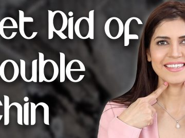 How to Get Rid of Double Chin /Jawline Exercise / Lose Face Fat Naturally - Ghazal Siddique