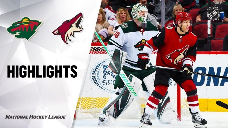 NHL Highlights | Wild @ Coyotes 12/19/19
