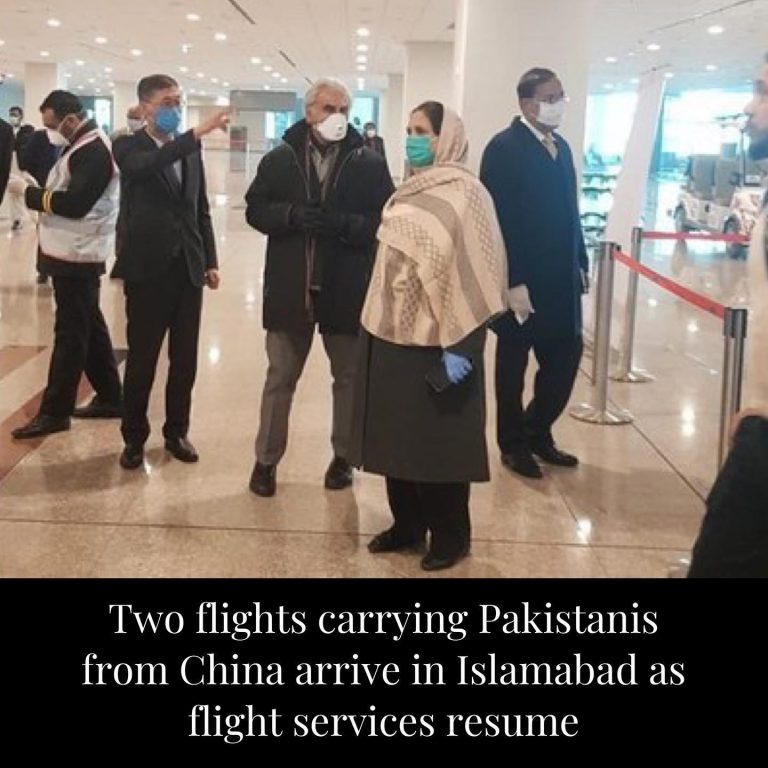 Two flights carrying passengers from China arrived in Islamabad on Monday as gov... 3