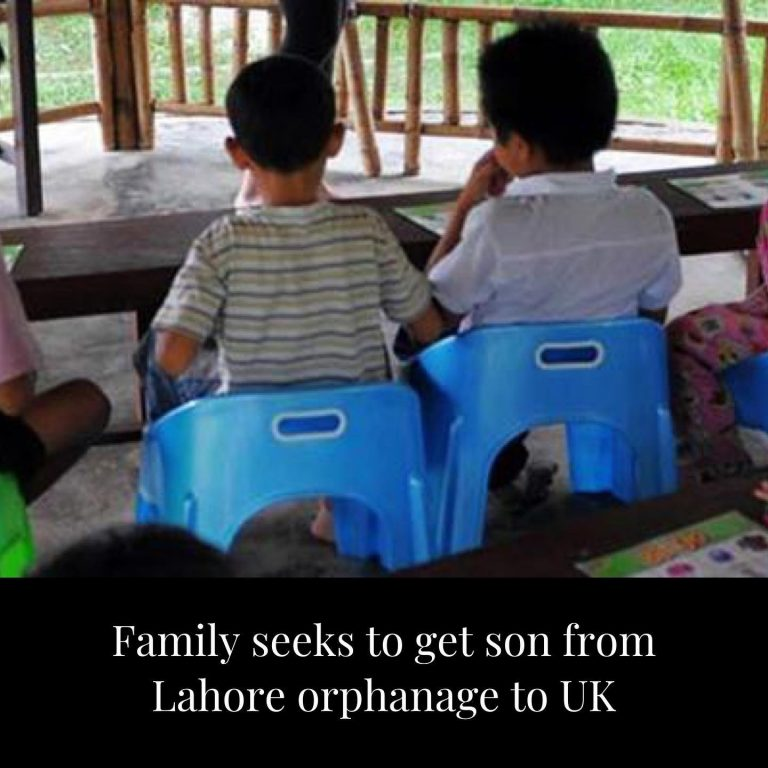 Parents of a child stuck in an orphanage in Lahore have said they weep every nig... 3
