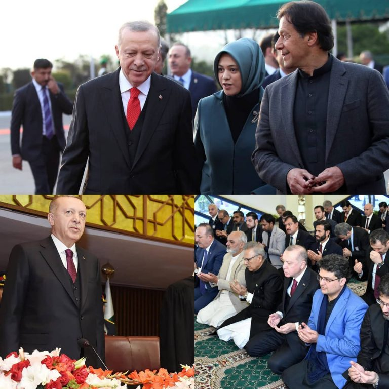Turkish President Recep Tayyip Erdogan on Friday completed his two-day trip to #... 3