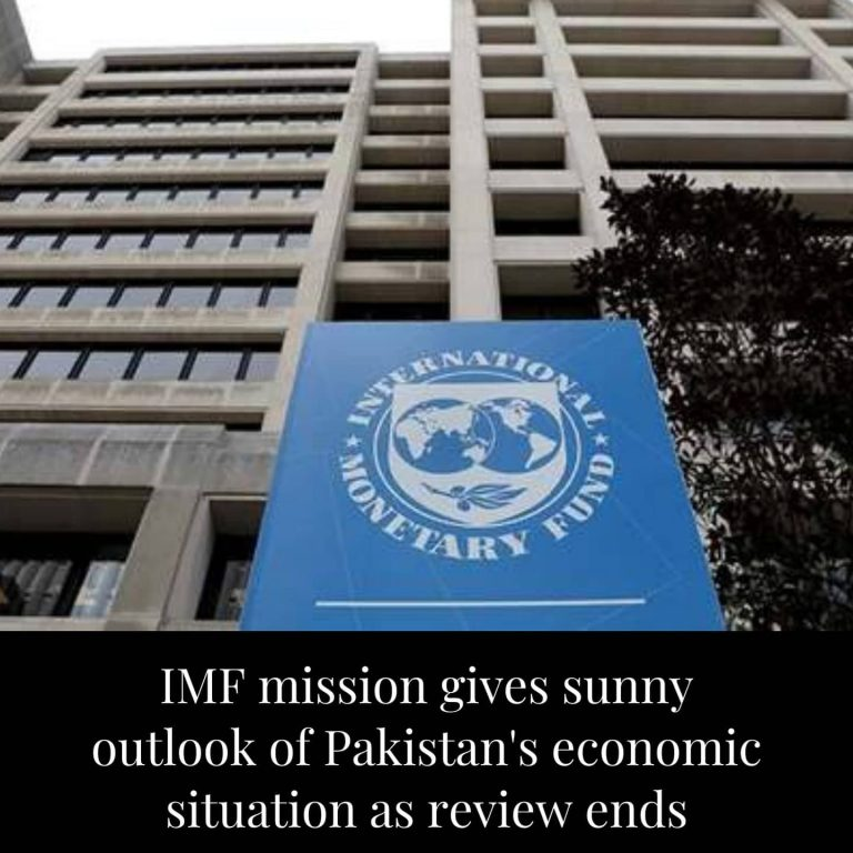 The International Monetary Fund (IMF) mission concluded that Pakistan had been s... 3