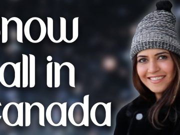 Snowfall in Canada / Winter life in Canada / Canadian Winter Challenges  - Ghazal Siddique
