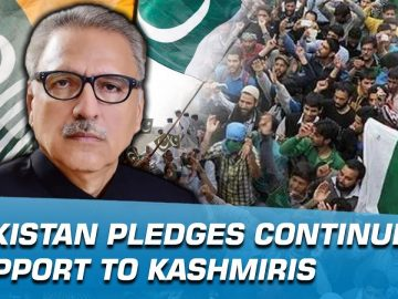 Pakistan pledges continued support to Kashmiris | Indus News