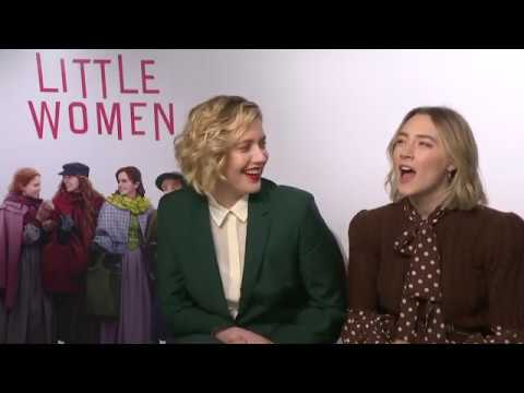 First Celebrity Crush: Gerwig and Ronan