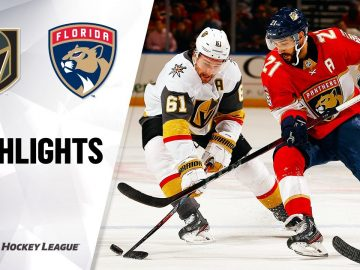 NHL Highlights   Golden Knights @ Panthers 2/6/20