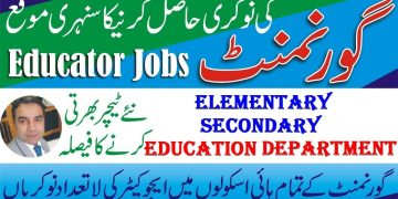 Elementary & Secondary Education Teaching Jobs | Educators Jobs 2020 | Online NTS Educators Jobs
