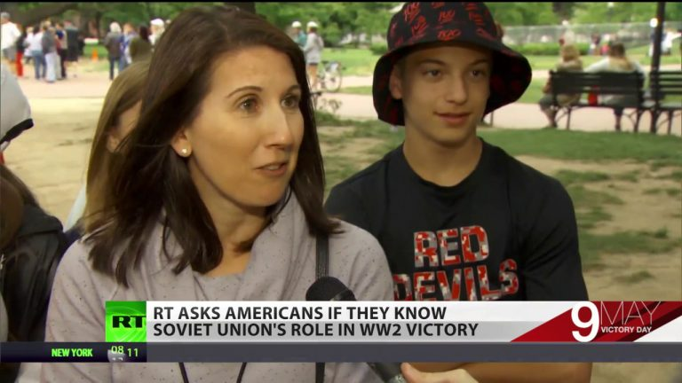USSR's role in WW2: Americans give RT their best guesses