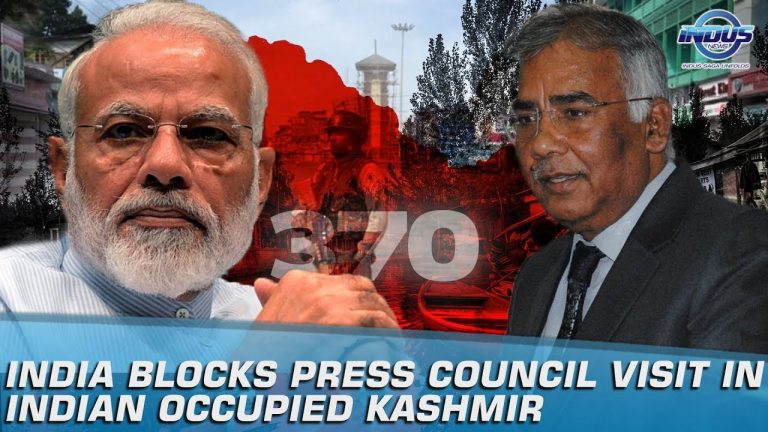 India Blocks Press Council Visit To Indian Occupied Kashmir | Indus News