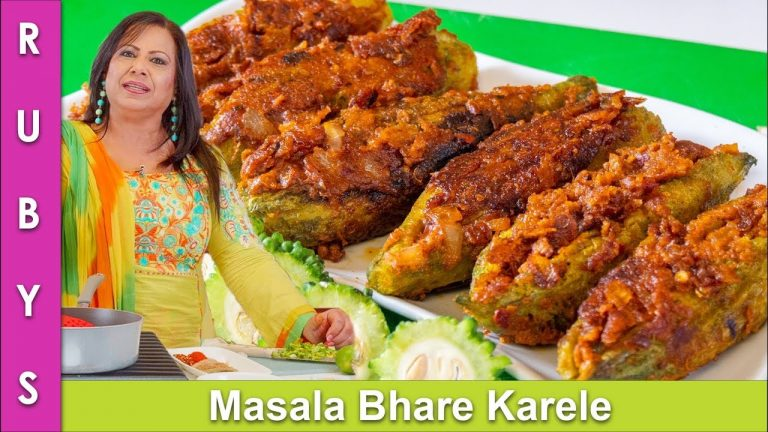 Masala Bhare Karele Bhare Huway Karalay ki Recipe in Urdu Hindi - RKK