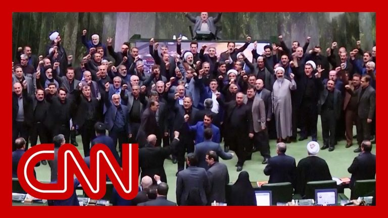 Lawmakers chant 'death to America' in Iranian parliament
