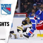 NHL Highlights | Bruins @ Rangers 10/27/19