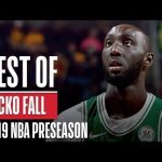 Best of Tacko Fall From 2019 NBA Preseason