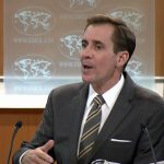 'Not going to put RT on same level with rest of you': John Kirby loses temper during briefing