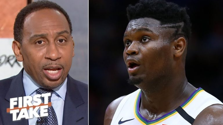 Does Zion have the Pelicans ahead of schedule? Stephen A. says no | First Take