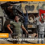 Turkish troops seize the centre of Syrian border town