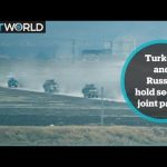 Turkey and Russia hold second joint patrol in Syria