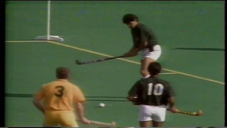 7th Hockey Worldcup 1990 Pakistan vs Australia Semi-Final Match - National Hockey Stadium Lahore