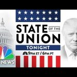 President Trump Delivers 2020 State Of The Union Address | NBC News (Live Stream Recording)