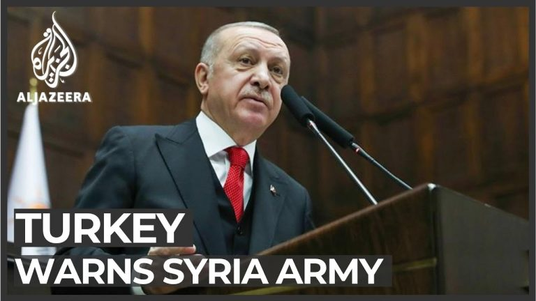 Erdogan: Turkey will hit Syrian government forces 'anywhere'