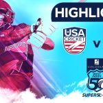 Da Silva Shines In Trinidad! | USA vs Emerging Players | Colonial Medical Insurance Super50 Cup