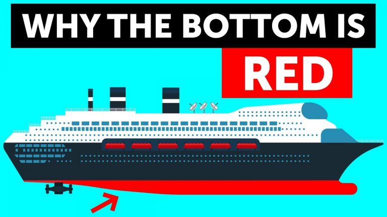 Why Ships Are Red Below the Waterline