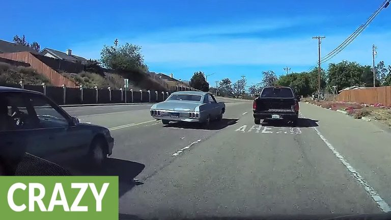Road rage incident turns into instant karma