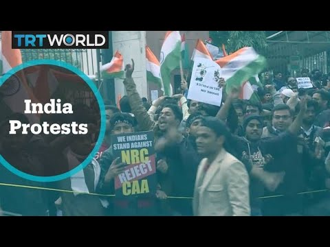 Thousands in India protest the new citizenship law