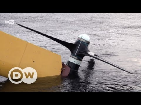 Turning the tide: Waves of energy | DW English