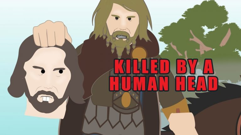 The Warrior who was Killed by a Severed Head (Strange Stories)