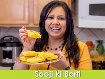 Sooji ki Barfi Rava ki Mithai Recipe in Urdu Hindi - RKK