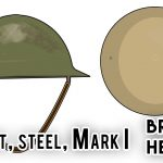 Brodie Helmet / Helmet, steel, Mark I (World War I)
