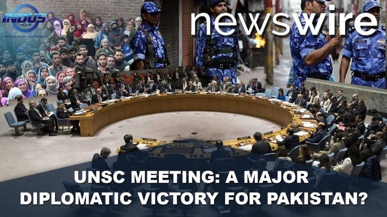 UNSC Meeting: A Major Diplomatic Victory for Pakistan | News Wire | Indus News