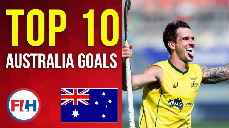 TOP 10 AUSTRALIA MEN'S HOCKEY GOALS! | FIH Hockey