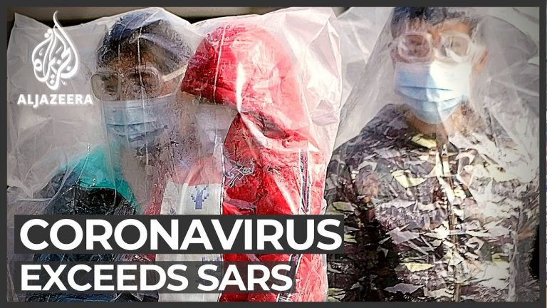 China death toll passes that of SARS outbreak