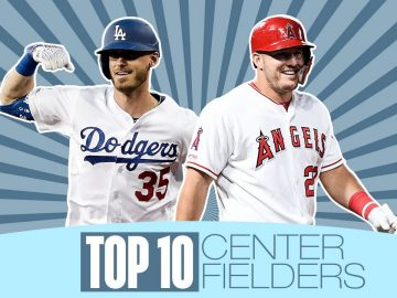 Top 10 Center Fielders in MLB for 2020 | MLB Top Players (Angels Mike Trout, Dodgers Cody Bellinger)