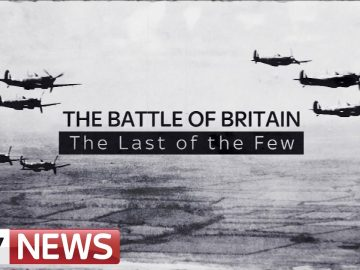 Battle Of Britain 75th Anniversary | Veterans Speak To Sky News