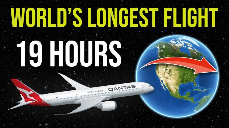 The Longest Flight In The World (19 Hours)