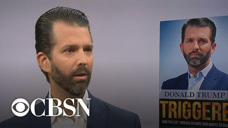 """Donald Trump Jr. blames Democrats for """"one-sided"""" impeachment inquiry"""