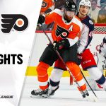 NHL Highlights | Blue Jackets @ Flyers 10/26/19