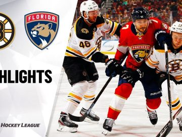 NHL Highlights | Bruins @ Panthers 12/14/19