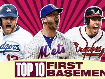 Top 10 First Basemen of 2020 | MLB Top Players
