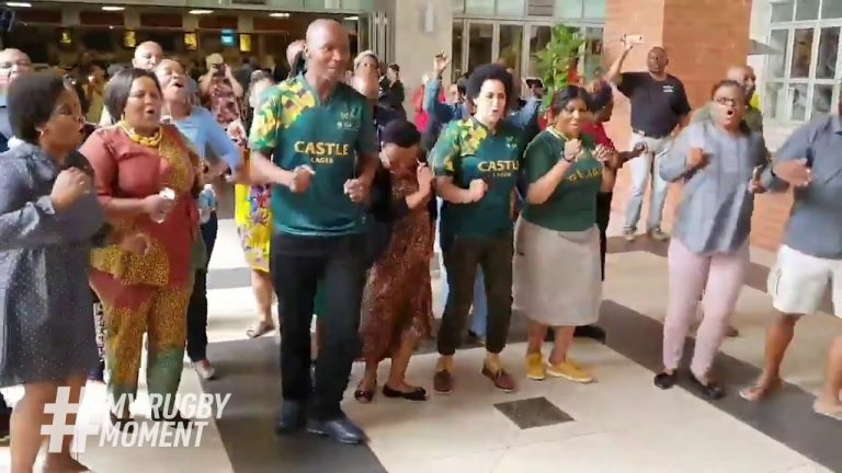 South Africa reacts to Springboks Rugby World Cup 2019 win   #MyRugbyMoment