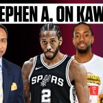Stephen A. Smith on Kawhi Leonard through the years | ESPN Voices
