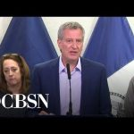 NYC mayor urges sick New Yorkers to stay off subways during coronavirus outbreak
