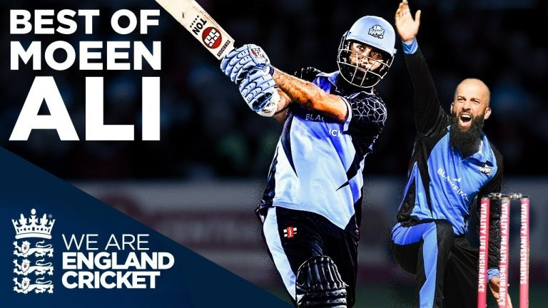 Best of Moeen Ali! | HUGE Sixes and INCREDIBLE Wickets | Vitality Blast 2019 | England Cricket 2019