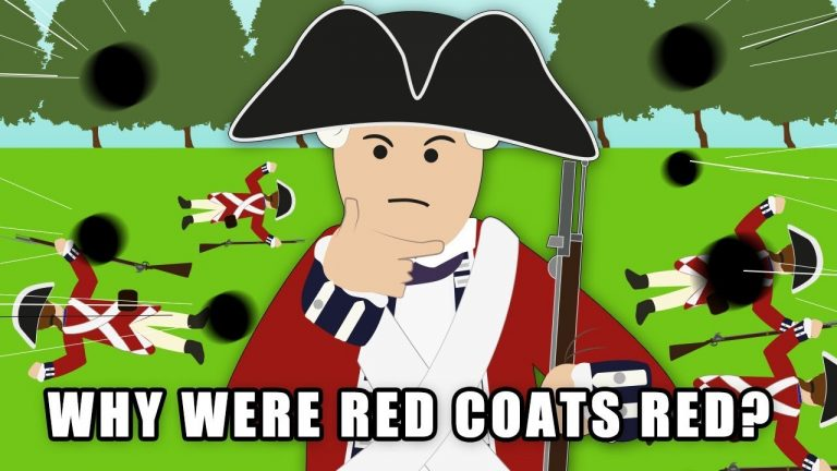 Why were Red Coats red?
