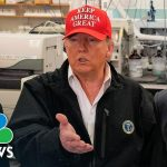 Trump 'Would Rather Have' Quarantined Passengers On Grand Princess 'Stay On' | NBC News