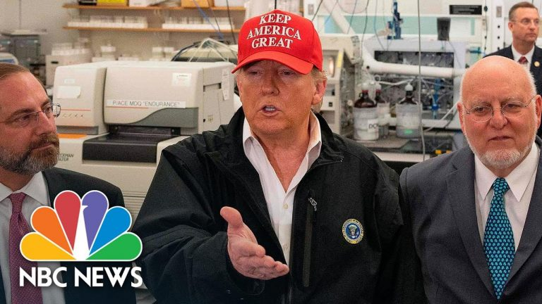 Trump 'Would Rather Have' Quarantined Passengers On Grand Princess 'Stay On'   NBC News