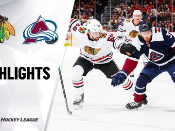 NHL Highlights | Blackhawks @ Avalanche 11/30/19